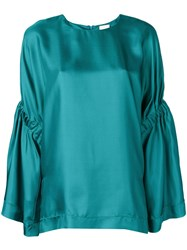Alysi Loose Fit Blouse Green