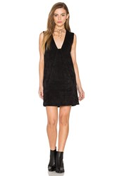 Dolce Vita Stella Suede Dress Black