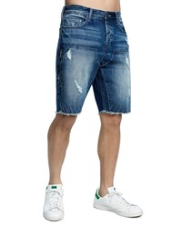 True Religion Field Drop Crotch Denim Shorts Fbmd Upstate