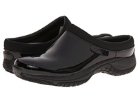 Merrell Encore Slide Pro Shine Black Shine Patent Women's Slip On Shoes