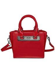 Folli Follie Style Code Black Tote Red