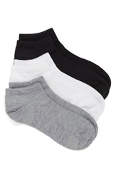 Women's Zella 'Fitness' Liner Socks Grey Multi