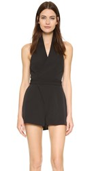 Keepsake White Shadows Romper Black