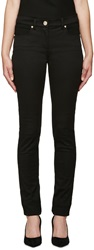 Versace Black Stretch Skinny Jeans