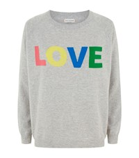Chinti And Parker Rainbow Love Jumper Female Grey