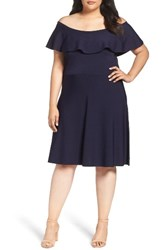 Eliza J Plus Size Women's Off The Shoulder Dress