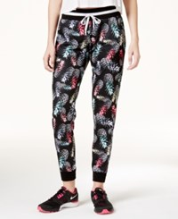 Jessica Simpson The Warm Up Juniors' Printed Jogger Pants Floral