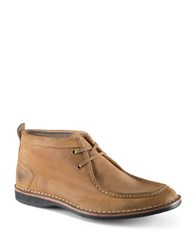 Andrew Marc New York Dorchester Suede Moccasin Boots Date