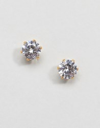 Mister Circle Stud Earring In Gold