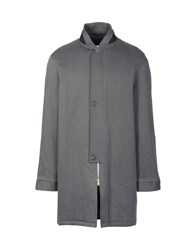 Aganovich Coats Steel Grey