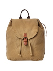 White Stuff Canvas Rucksack Khaki