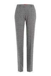 Hugo Straight Leg Trousers Multicolor