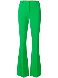 Capucci Slim Flared Trousers Green