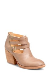 Kork Easer Women's Ease 'Stina' Leather Bootie Taupe Leather