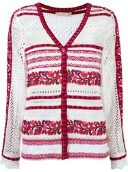 Cecilia Prado Knit Cardigan Red