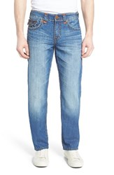 True Religion Men's Big And Tall Brand Jeans Ricky Relaxed Fit Jeans Dqkm Blue Metal