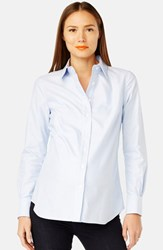 Rosie Pope Women's 'Classic' Maternity Shirt Light Blue
