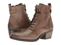 Spring Step Nario Taupe Women's Lace Up Boots