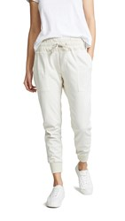 James Perse Contrast Sweatpants Talc