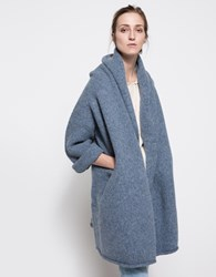 Lauren Manoogian Capote Coat In Chambray