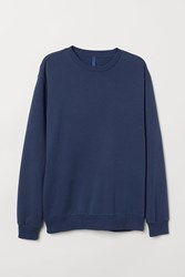Handm H M Relaxed Fit Sweatshirt Blue