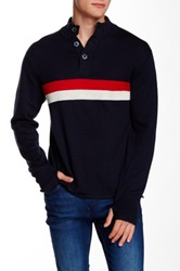 Relwen Peloton Mock Sweater Blue