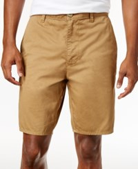 American Rag Men's Big And Tall Flat Front Shorts Only At Macy's Dull Gold