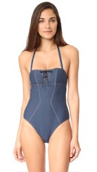 Agent Provocateur L'agent By Sophia Swimsuit Denim
