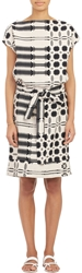 Ace And Jig Tribal Pattern Shift Dress Black