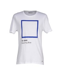 Pantone Topwear T Shirts Men White