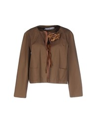 Cristinaeffe Suits And Jackets Blazers Women Khaki