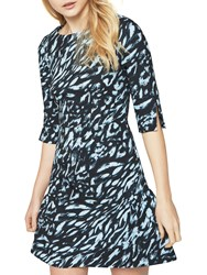 Closet Split Sleeve Dress Multi