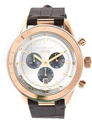 Givenchy 'Eleven Chronograph' Watch Brown