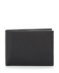 Bloomingdale's The Men's Store At Rfid Saffiano Slimfold Wallet Black