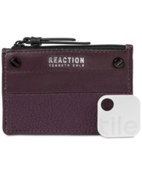 Kenneth Cole Reaction Rfid Key Coin Purse With Tracker Blackberry