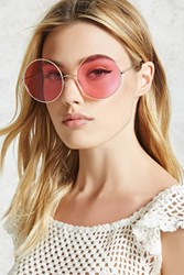 Forever 21 Tinted Round Sunglasses