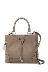 Frye Fay Small Leather Handbag Gray