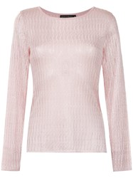 Cecilia Prado Ione Knitted Top Pink