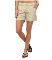 Columbia Coral Point Ii Short Fossil Women's Shorts Beige