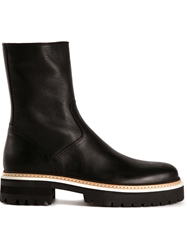 Ann Demeulemeester Oiled Boots Black