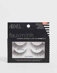 Ardell Faux Mink Lashes 811 Twin Pack Black