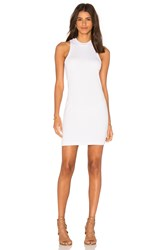 Bella Luxx High Neck Tank Dress White