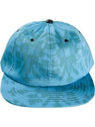 Baja East 'Bady' Watercolor Hat Blue