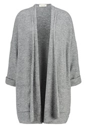 American Vintage Wixtonchurch Cardigan Gris Chine Light Grey