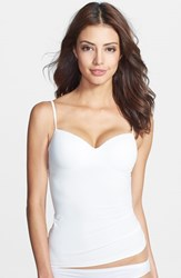 Women's Hanro 'Allure' Built In Bra Camisole Off White