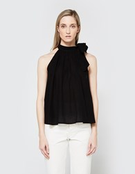 Apiece Apart Medina Tie Top Black