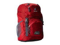 Deuter Junior Raspberry Check Bags Red
