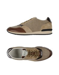 Giorgio Armani Footwear Low Tops And Trainers Men Khaki