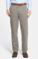 Cutter And Buck Big Tall Curtis Flat Front Five Pocket Cotton Twill Pants Twig Brown