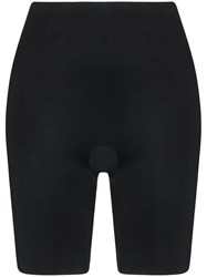 Spanx Suit Your Fancy Booty Booster Mid Thigh Briefs Black
